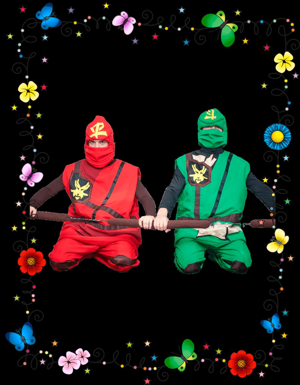 Ниндзяго Кай и Ллойд